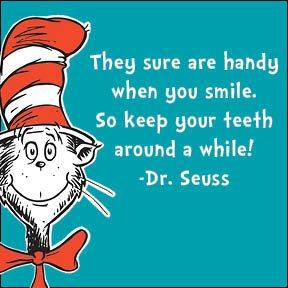 dr seuss teeth aphorism