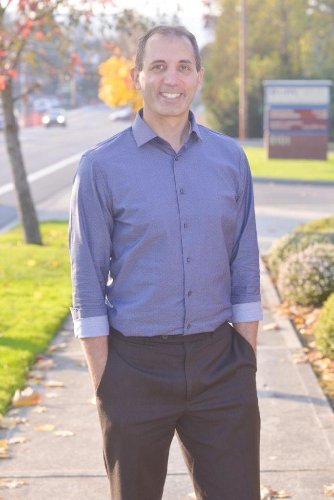 Dr Michael Bilikas 32 Pearls Tacoma Dentistry outdoors